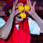 Monsieur Ben jonglage 3 balles - Bernard Lebel