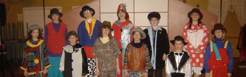 Clowns - ateliers Ben et Gabzy