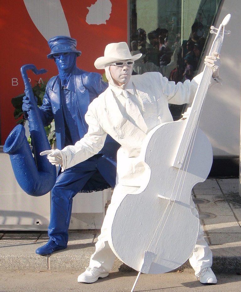 Statue-vivantes - les Productions Bernard Lebel