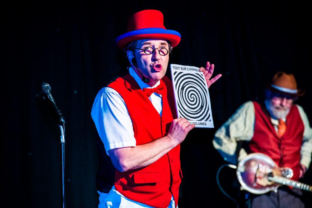 Cabaret Chez Bernard - hypnose