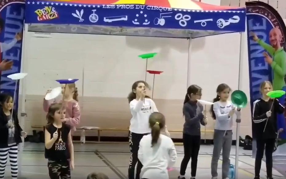 Ateliers de cirque