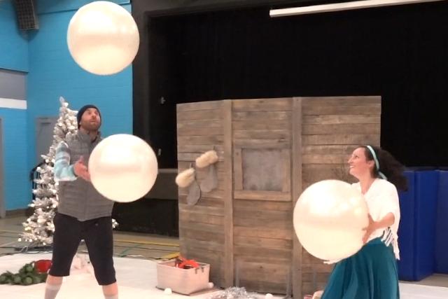 Cirque et Boule de Neige
