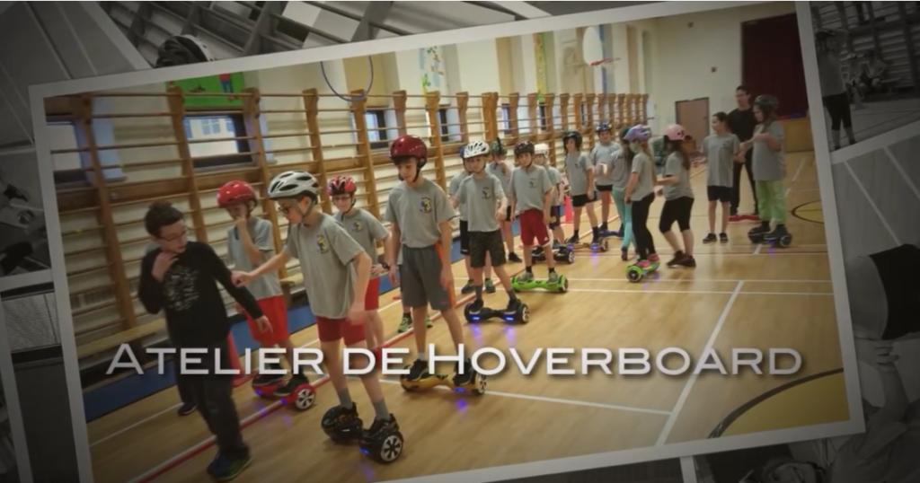 Explorez le Hoverboard