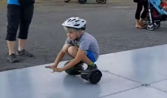 Essayer le Hoverboard